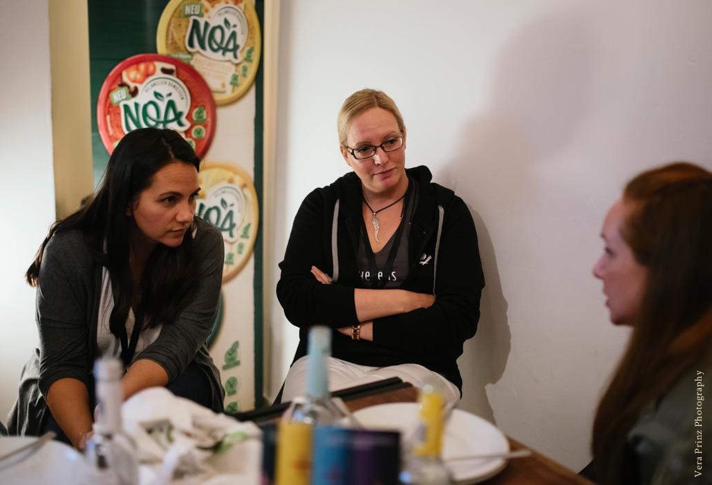 Gespräch unter Bloggern