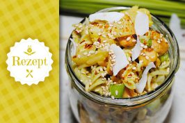 Blitz-Rezept: Nudelsalat Asia-Style in 15 Min.